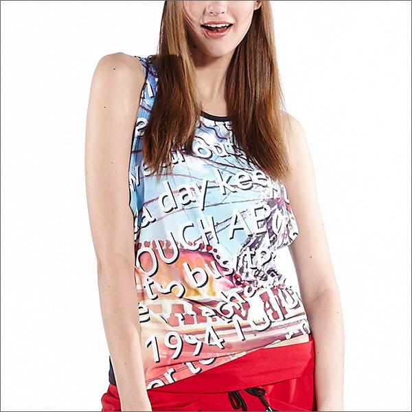 流行挖袖背心罩衫TA598商品圖不含內搭男女皆適宜-百貨專櫃品牌TOUCH AERO瑜珈服有氧服韻律服
