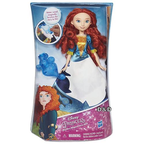Disney迪士尼公主故事裙裝遊戲組勇敢傳說梅莉達公主JOYBUS玩具百貨