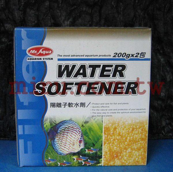 西高地水族坊水族先生Mr.Aqua陽離子軟水劑200g x 2