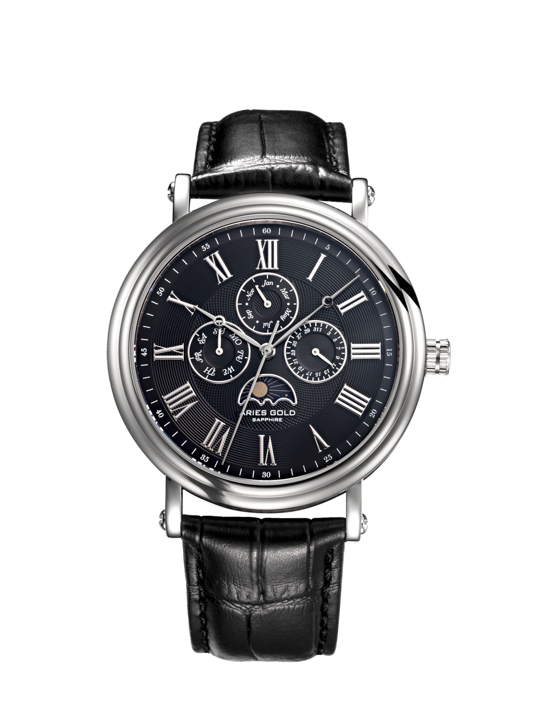 ★Aries Gold★-雅力士手錶-KENSINGTON-G 101 S-BK-錶現精品公司-原廠公司貨