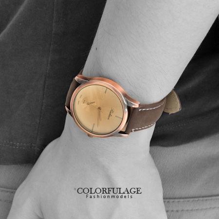 無印風 簡約刻度情侶對錶 復刻造型獨家不撞款手錶 中性款式 柒彩年代【NE1295】單支價格