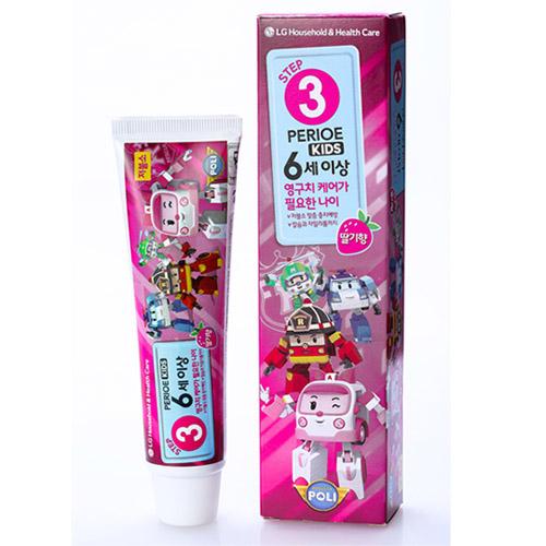 倍麗兒波力兒童牙膏草莓口味6歲以上-女