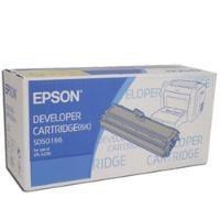 EPSON原廠黑色碳粉匣S050166黑色適用機型EPSON 6200雷射印表機