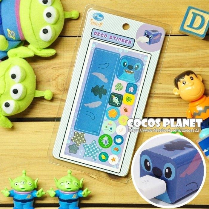 迪士尼裝飾貼紙史迪奇IPHONE豆腐充貼紙插頭貼紙COCOS PL055