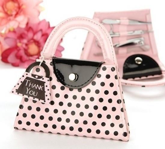 娃娃屋樂園~粉色包包修容組每組60元婚禮小物送客禮喜糖籃組探房禮