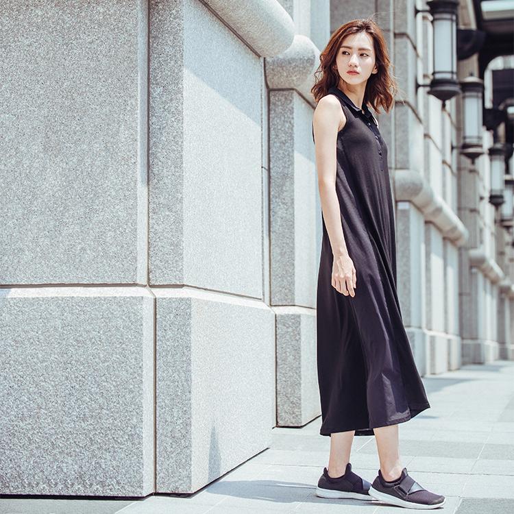 【MACACA】EVERYWHERE涼夏長洋-BSE8041(黑)(休閒/日常穿搭/運動生活)