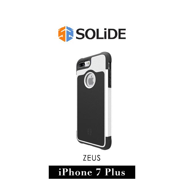 【G2 STORE】SOLiDE ZEUS 軍規級 iPhone 7 Plus 防摔 保護殼 天使白
