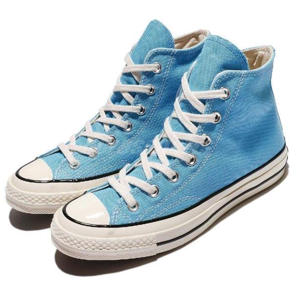 Converse Chuck Taylor All Star 70 粉藍 白 奶油底 1970 基本款 女鞋 1970 138737C