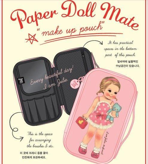 想購了超級小物超萌系可愛洋娃娃化妝包-長型化妝品收納包手拿包韓國熱銷小物