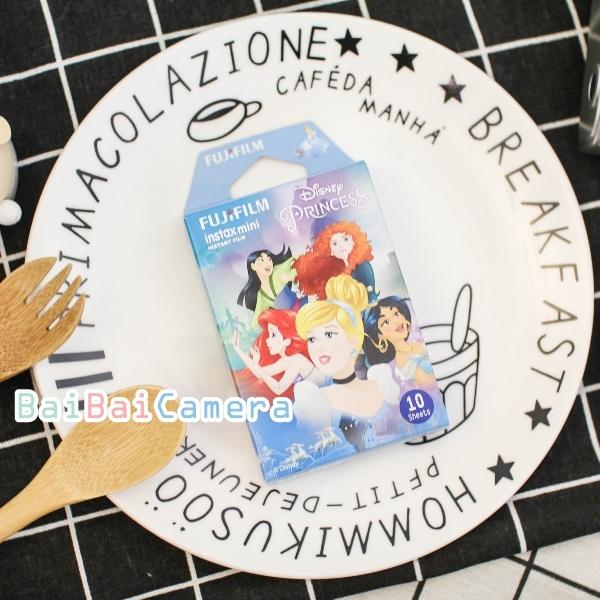 BaiBaiCamera 藍盒公主 拍立得底片 富士 灰姑娘 花木蘭 阿拉丁 茉莉 另售 空白底片 拍立底相紙 sp2