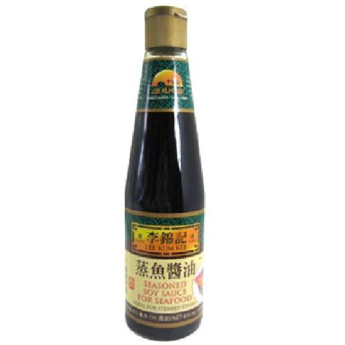 李錦記蒸魚醬油14OZ(410G)瓶【愛買】