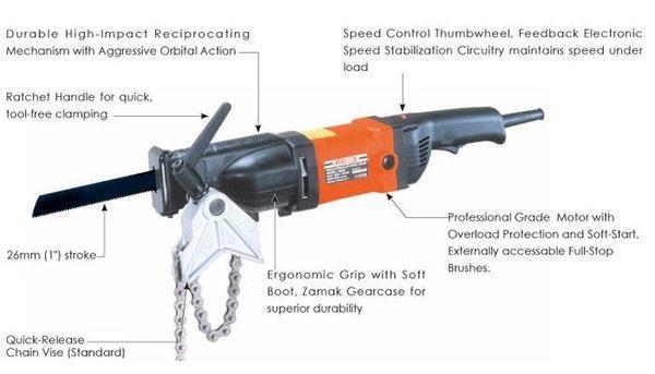 [家事達]臺製 AGP 鍊條式切管機.電鋸.帶鋸機- 特價~ 切管機切割機