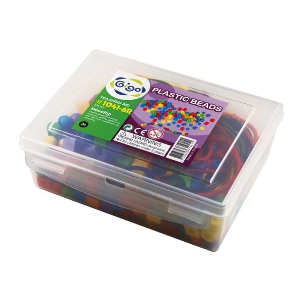 6小珠子(含6條繩子)#1041-6R 智高積木 GIGO 科學玩具 (購潮8)