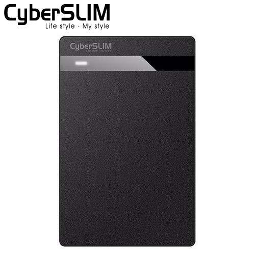 CyberSLIM V25U3 2.5吋USB 3.0外接盒黑