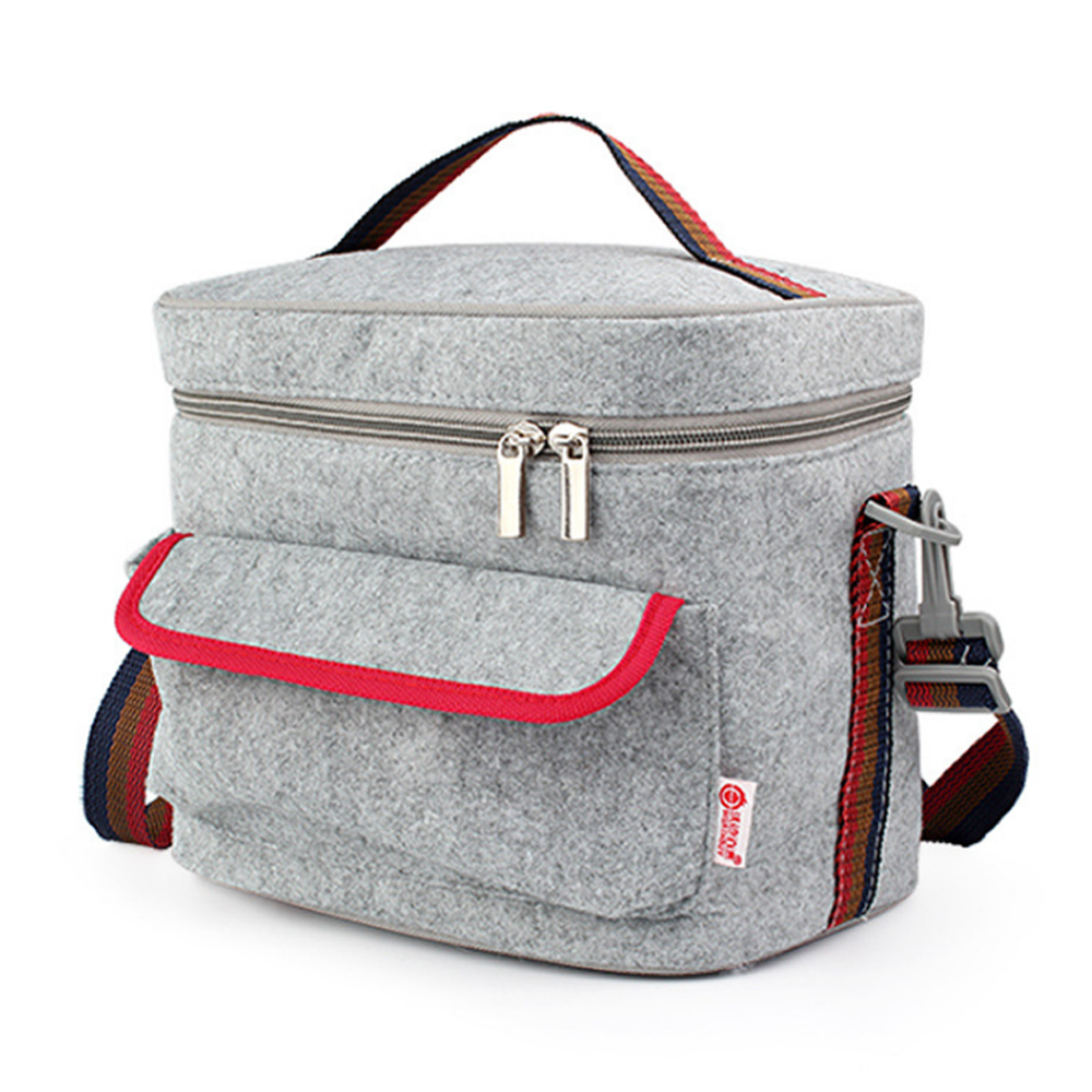 PUSH餐具用品保溫飯盒便當盒保溫提袋1入超大號E92