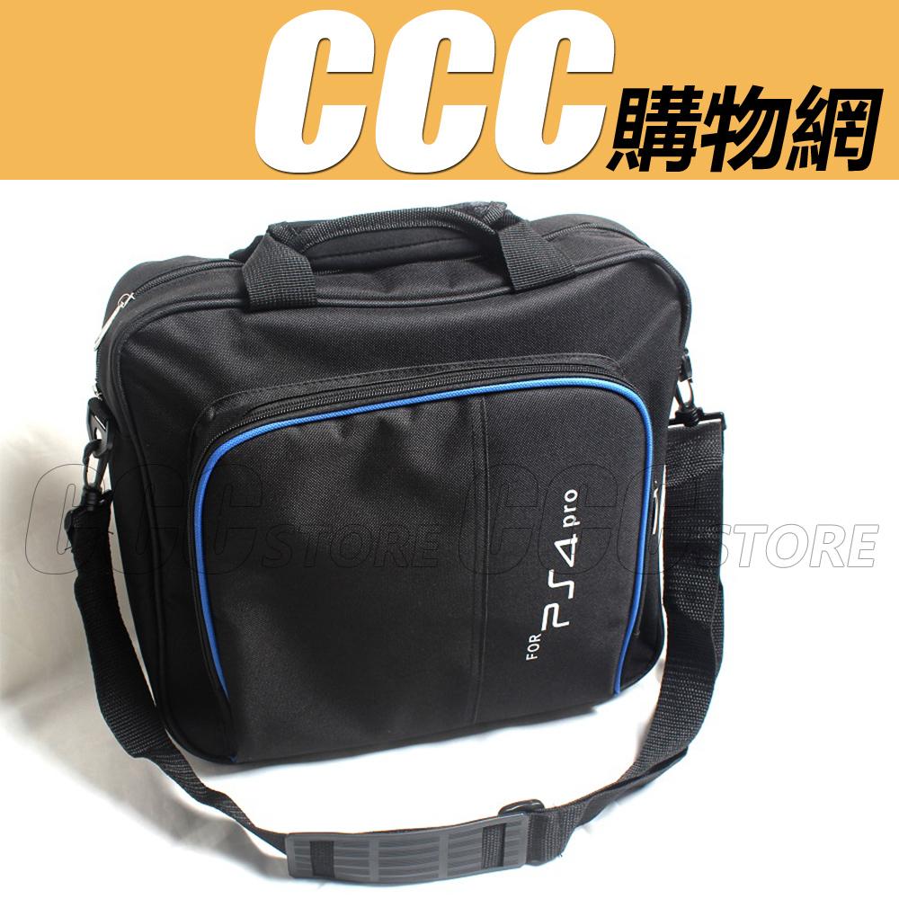 SONY PS4 PRO主機包遊戲機包側背包手提包收納包旅行背包包包防撞包單肩包PS4配件
