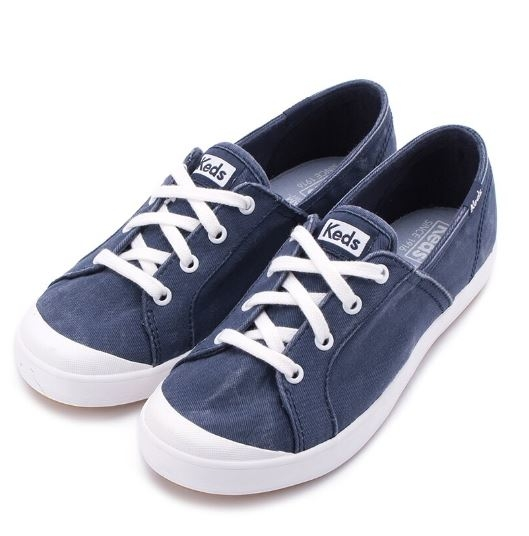 Keds SANDY 女款海軍藍色復古休閒鞋 -NO.9191W112753
