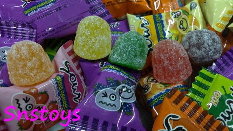 sns ~喜糖~Lot100一百份綜合 超酸 QQ糖 先酸後甜 整人酸Q軟糖 ±200顆 1000公克(馬來西亞進口)