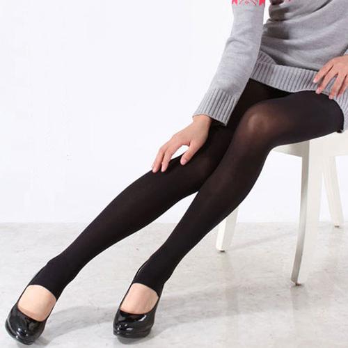 現貨內搭褲加絨內搭褲9分褲襪踩腳褲連腳褲窄管褲F5058