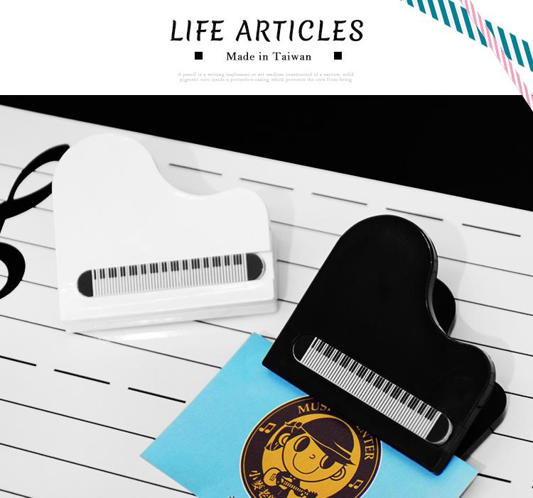 小麥老師樂器館譜夾台灣製NC009磁鐵鋼琴夾三角鋼琴夾子留言夾樂譜夾音符夾A752