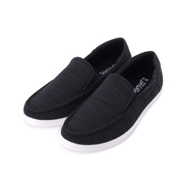 SARTORI 套式環線懶人鞋 黑 男鞋 鞋全家福
