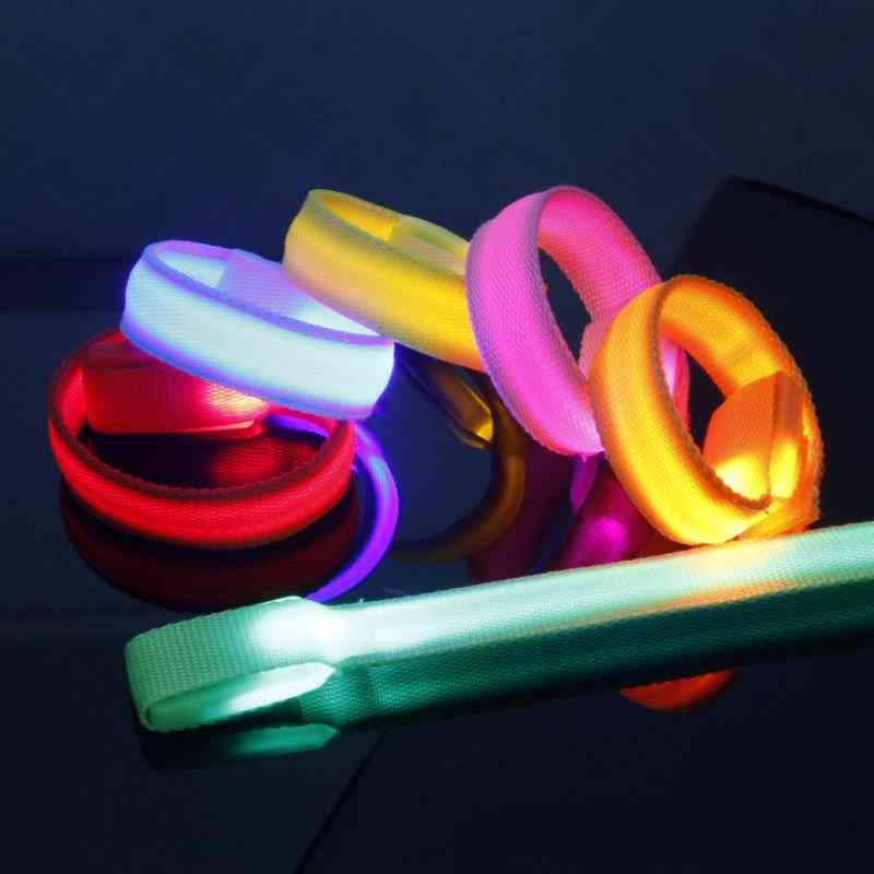 LED發光手腕帶顏色隨機