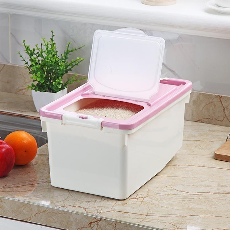 廚房收納防潮30斤20斤米缸塑料密封防蟲大米面粉裝米桶儲米箱10kg