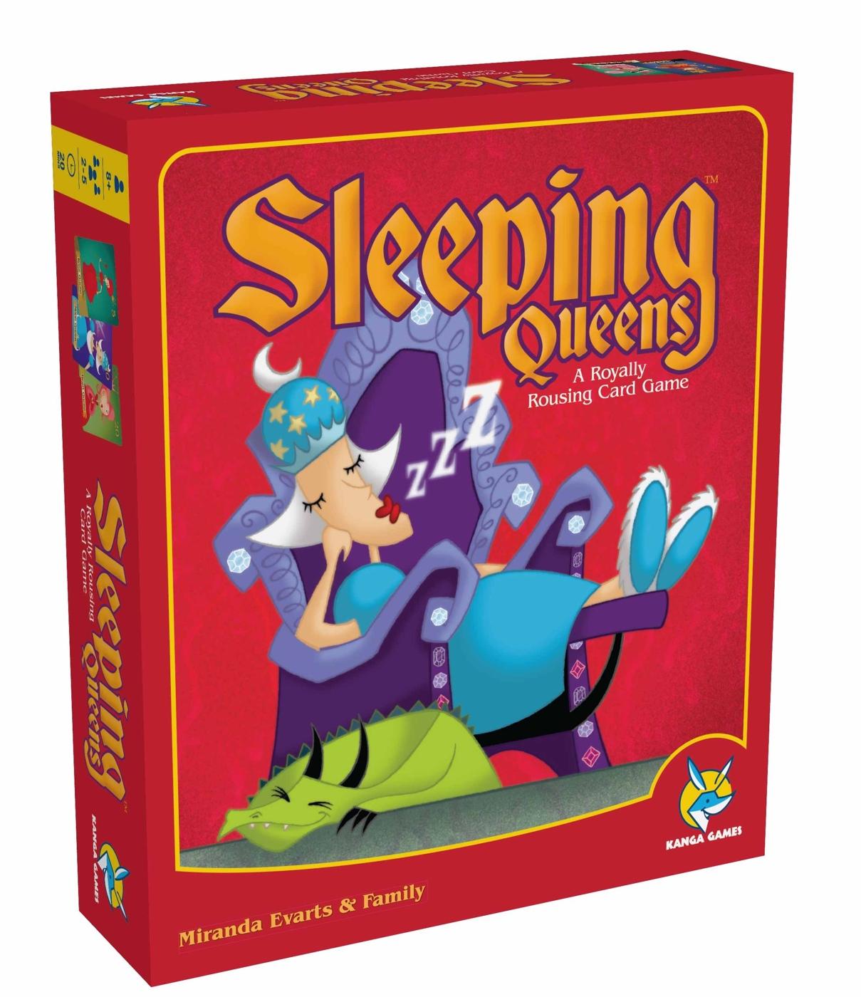 楷樂沉睡皇后Sleeping Queens-繁中正版桌遊德國兒童益智遊戲中壢可樂農莊