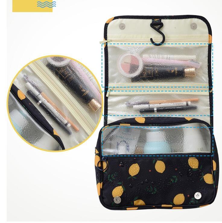 化妝包旅行洗漱包便攜式大容量女士防水出差旅游收納袋套裝包