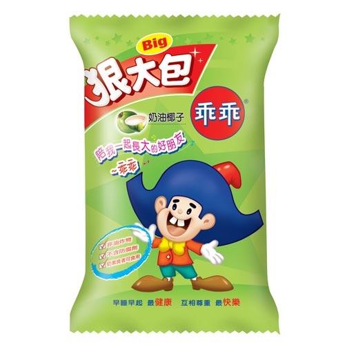 乖乖椰子口味狠大包80g【愛買】
