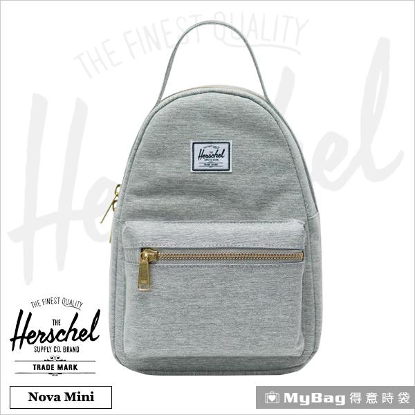 Herschel 後背包 Nova Mini 小型 休閒後背包 文輕小包 淺灰色 Nova Mini-1866 得意時袋