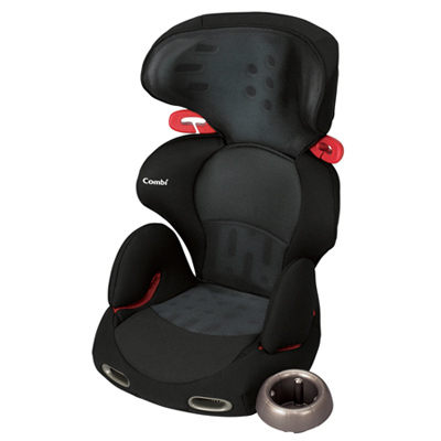 【促銷】Combi New Buon Junior 成長型安全座椅-網眼黑(米色)