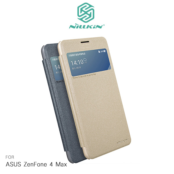 NILLKIN ASUS ZenFone 4 Max ZC554KL星韵皮套開窗可視來電保護套手機套