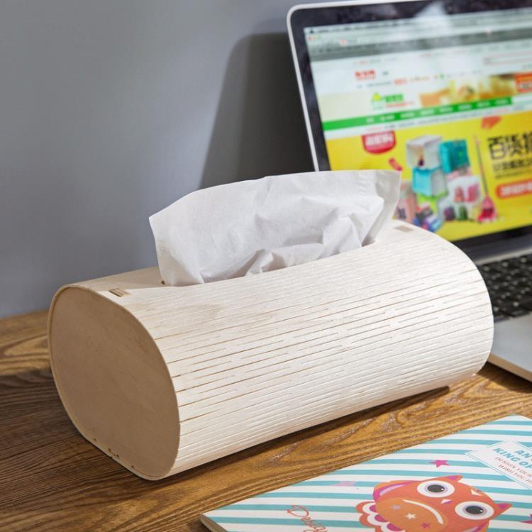 超豐國際創意木質抽紙盒餐巾紙盒子客廳桌面木制紙抽盒簡約紙巾