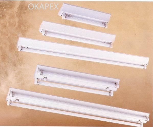 【燈王】《台灣製T8東亞日光燈》高效率 山型 四尺 雙管 40W日光燈具 ☆ FS32243XH