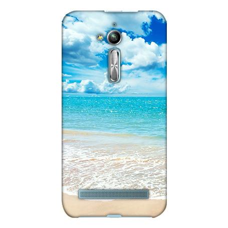 機殼喵喵華碩asus ZenFone go ZB500KL X00ADA手機殼軟殼保護套陽光沙灘