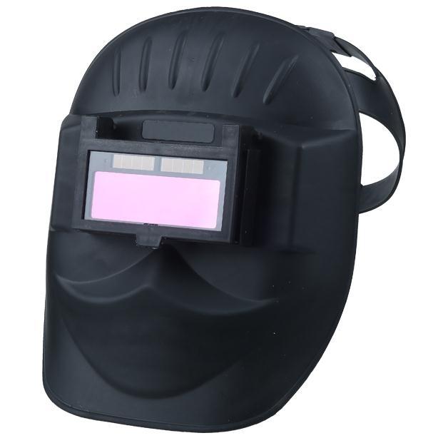 自動變光電焊面罩焊接氬弧焊眼鏡面具焊工焊帽頭戴式變光面罩燒焊小明同學