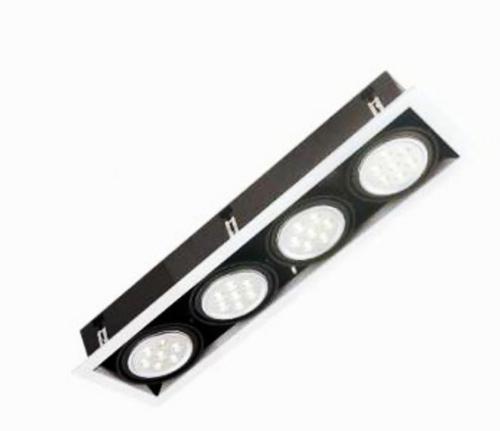 燈王的店AR111 LED 7W x 4嵌燈白光黃光內附驅動器TYL17