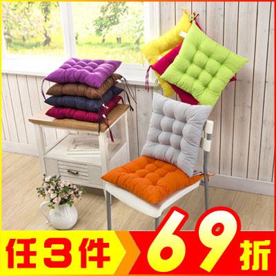 居家加厚超柔坐墊椅墊餐椅墊九針墊顏色任選AE03104大創意生活百貨JC生活雜貨