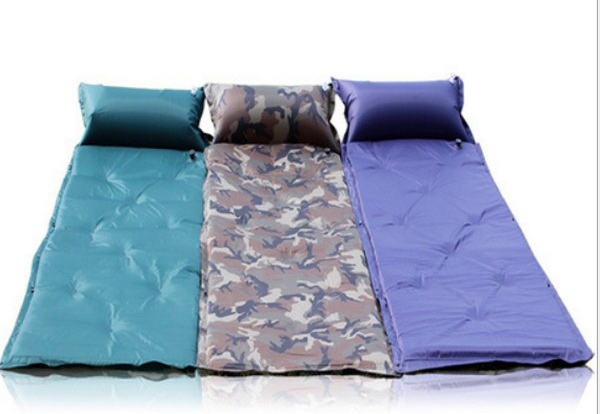 樂達數位自動充氣墊自動充氣床墊防潮睡墊露營睡墊可拼接送背袋