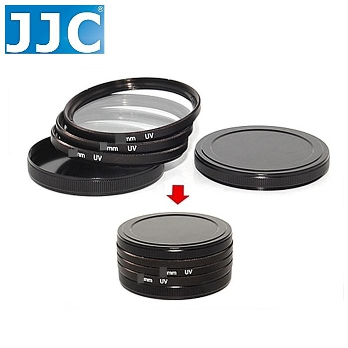 又敗家JJC金屬保護鏡收納盒SC-62 62mm濾鏡盒62mm保護鏡盒保護鏡保護盒MC-UV保護鏡儲存盒保護鏡