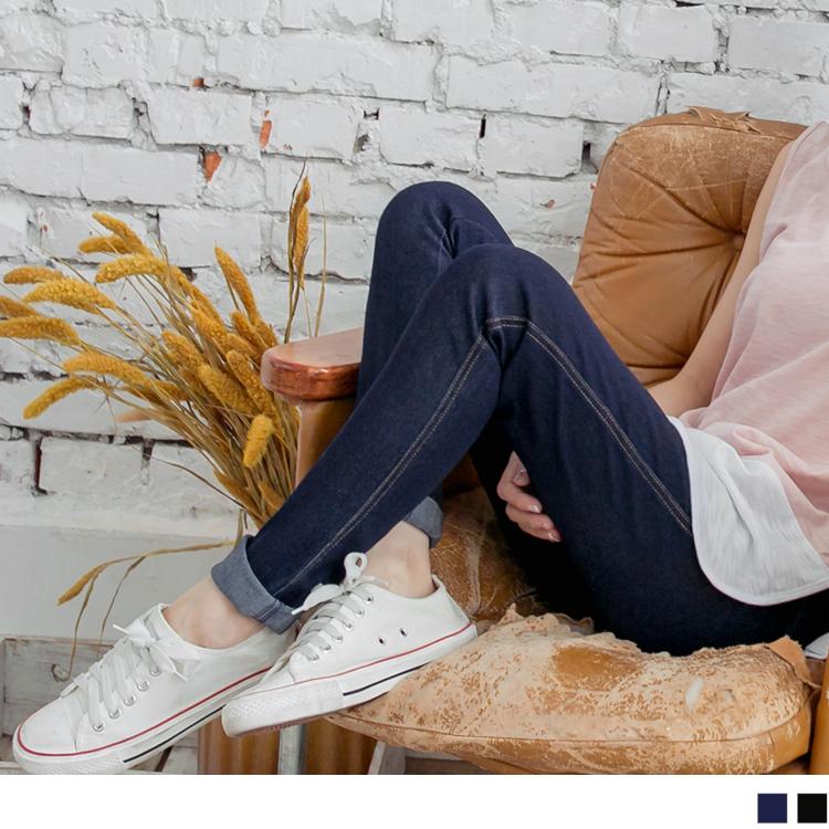 OB嚴選《BA0221-》嚴選材質超瘦腿彈性牛仔窄管褲.2色--適 XS~XL