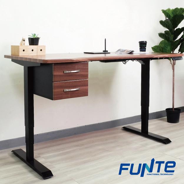 【FUNTE】桌下型雙層抽屜
