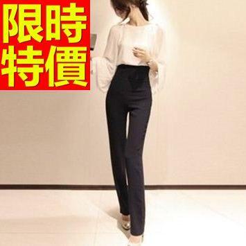 西裝長褲-OL率性清新修身品味超人氣女褲子1色59z33巴黎精品