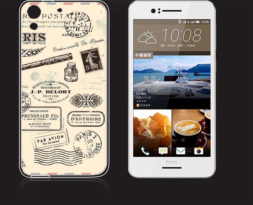 俏魔女美人館郵戳水晶硬殼HTC 728手機殼手機套保護套保護殼