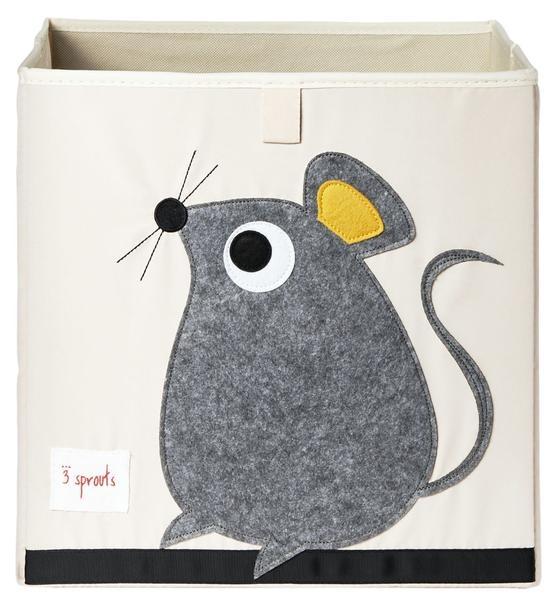 【加拿大 3 Sprouts】收納箱-老鼠款