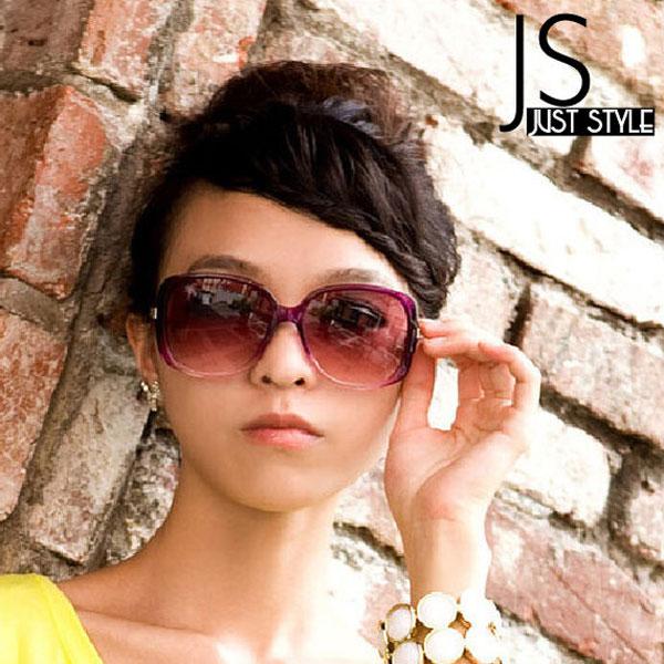太陽眼鏡【JS精心苑】大框漸變太陽眼鏡/墨鏡/飾品/配件/配飾