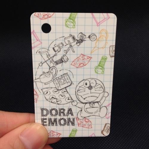 哆啦A夢時光機一卡通普通卡