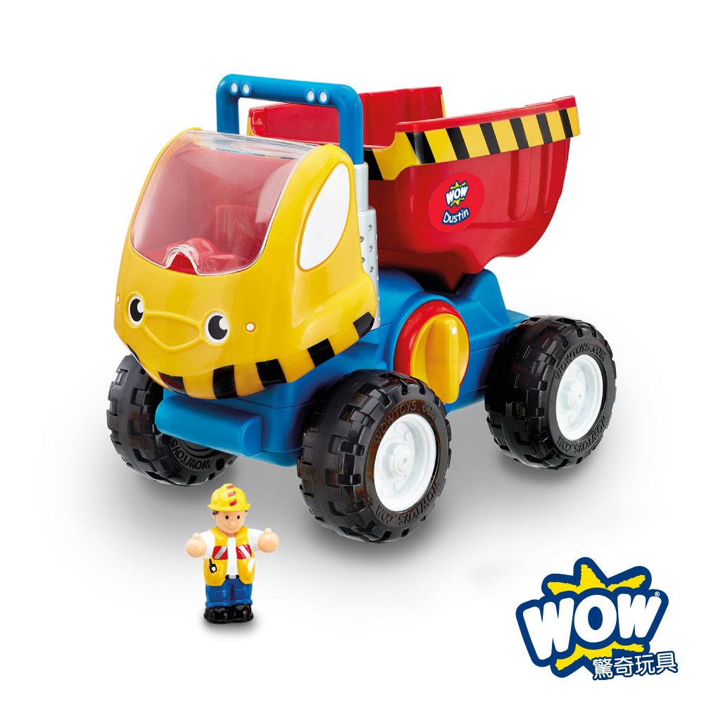 英國WOW Toys驚奇玩具巨輪大卡車杜德里建築工程