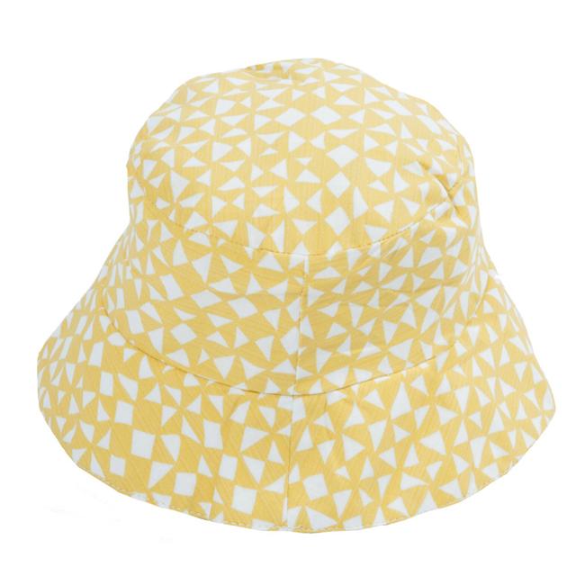 比利時Trixie有機棉遮陽帽童帽~金黃起司48 50 52cm